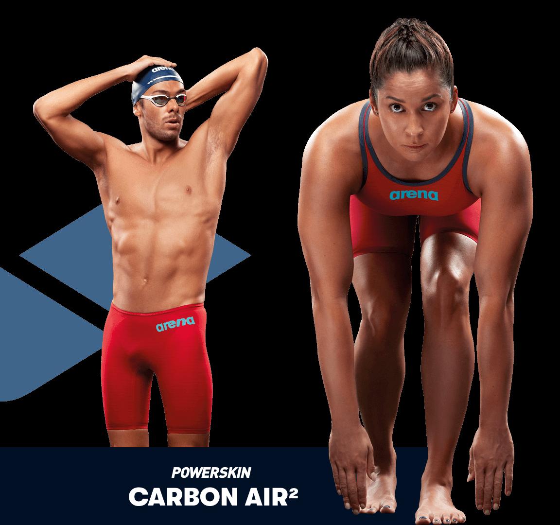 Bañador de competición arena Powerskin Carbon Air 2