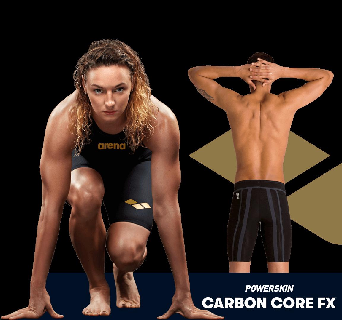 Bañador de competición arena Powerskin Carbon Core Fx