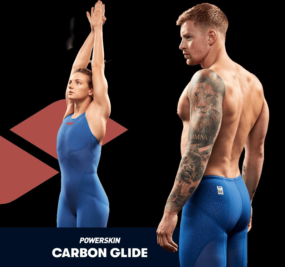 arena Powerskin Carbon Glide race suit