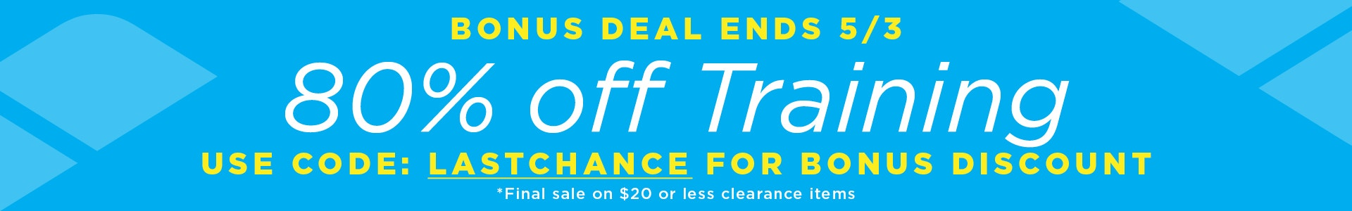 Womens Training - Bonus Sale