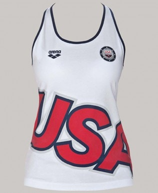 Official USA Swimming National Team Women's Tank