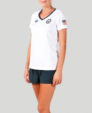 Official USA Swimming National Team Women's T-Shirt
