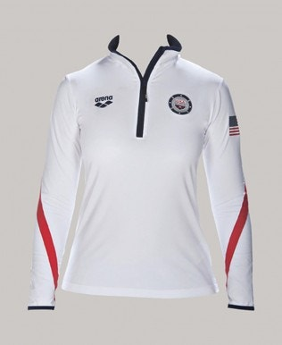 Official USA Swimming National Team Women's Tech 1/2 Zip