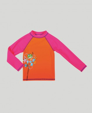 Arena Water Tribe Girl's UV Long Sleeve T-Shirt