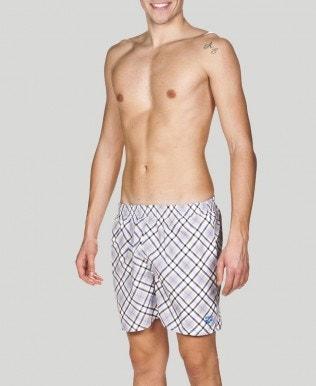 Men's Printed Check 2 Boxer