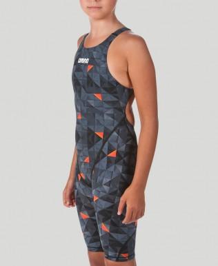 Powerskin ST 2.0 für Mädchen offener Rücken Limited Edition – FINA genehmigt