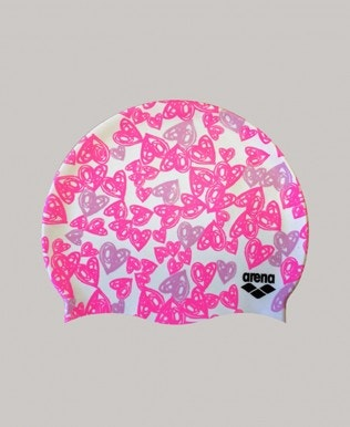 Hearts Collection Swim Cap