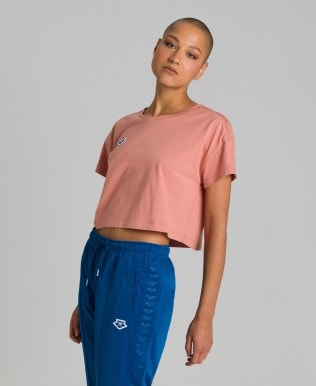 Crop T-Shirt Femme Corinne Team
