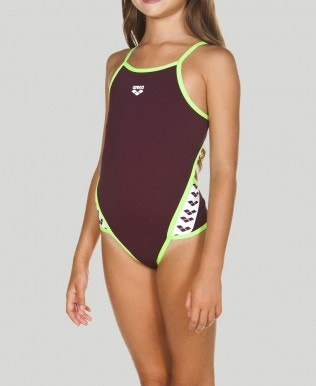 Girl's Team Stripe One Piece