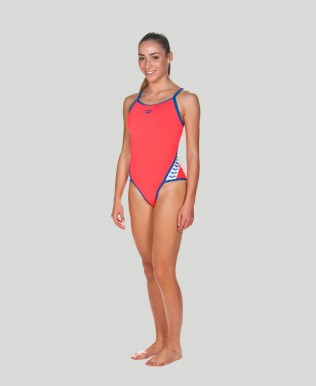 Team Stripe Super Fly Back One Piece - FINAL SALE