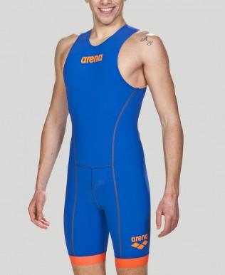 Body da Triathlon Uomo  ST 2.0 con zip posteriore