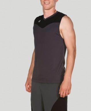 Ärmelloses T-Shirt Männer Gym