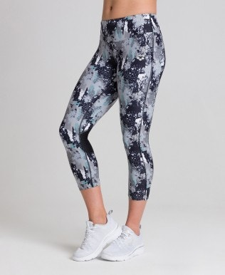 Leggings 3/4 Frauen Gym