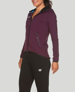 Women's Gym Hooded Full Zip Jacket