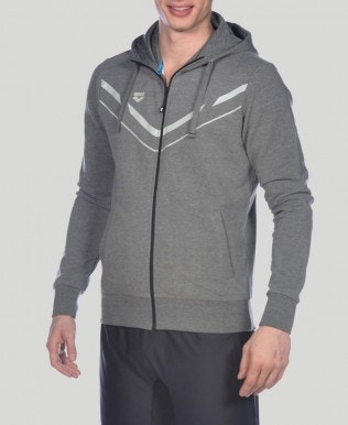 Men's Stretch Hooded Full Zip Jacket