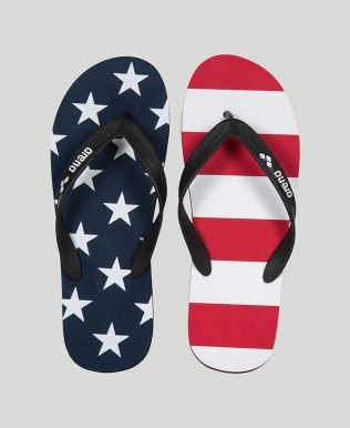 Official USA Swimming National Team Flip Flop