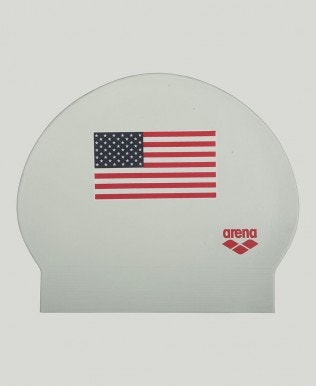 Team USA Latex Swim Cap