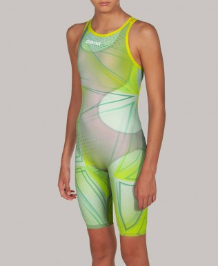 Girl's Powerskin R-EVO ONE Open Back Limited Edition -FINA approved