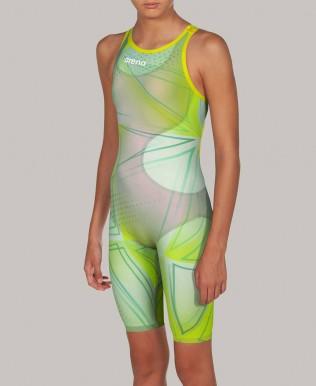 Powerskin R-EVO ONE für Mädchen offener Rücken Limited Edition   – FINA genehmigt