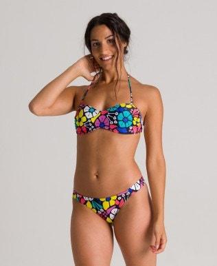 Women's Allover Bandeau bikini