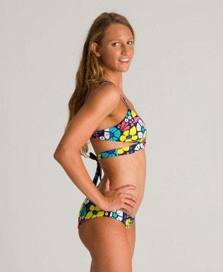 Women's reversible triangle bikini