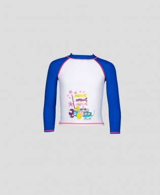 Arena Water Tribe Kids Girl's UV Long Sleeve T-Shirt