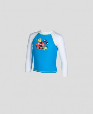 Langarm UV-Shirt Jungen arena Water Tribe