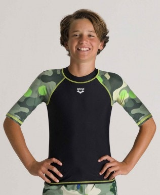 Boys' Short sleeves Allover Rash Vest