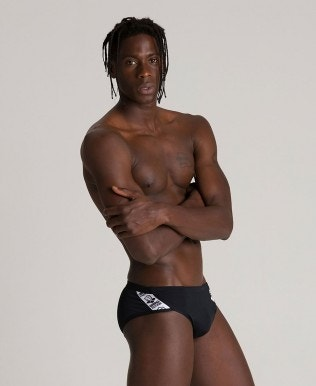 Men's brief arena Black