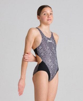 Kikko Jr Swim-Tech-Back Mädchen-Einteiler