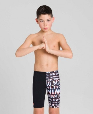 Neon Glitch Jr Jammer Jungen-Shorts