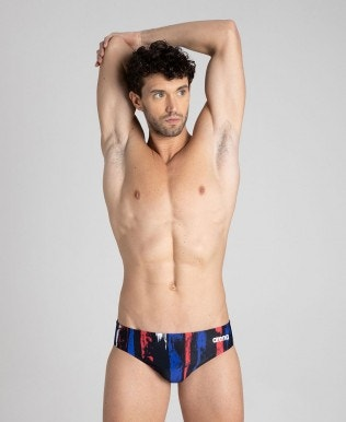 Team Painted Stripes Brief