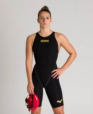 Damen Powerskin Carbon-Core Fx für Frauen geschlossener Rücken – FINA genehmigt
