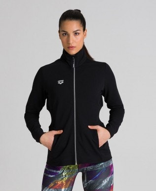Women's Full Zip Jacket Rib Insert