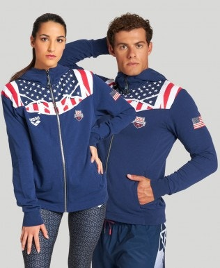 Bishamon USA Hooded Zip Jacket