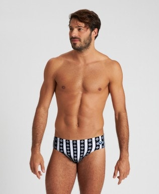 Men's Mark Spitz Allover Print Brief