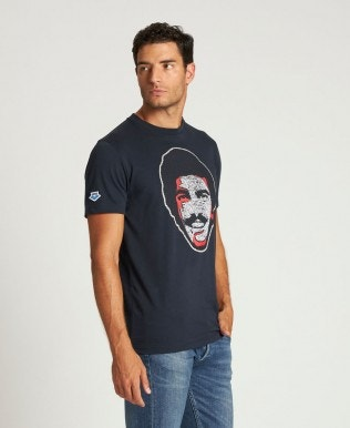 T-shirt pour homme Mark Spitz Face Patch