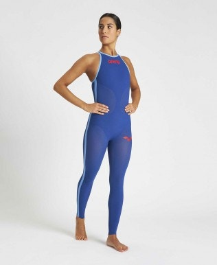 Powerskin Carbon Wave OW Full Body Geschlossener Rücken Damen