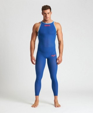 Men's Powerskin Carbon Wave OW Full Body Closed Back