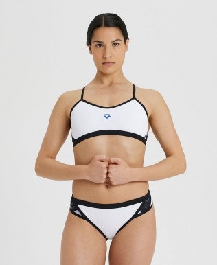 Women's Icons Team Stripe Bikini