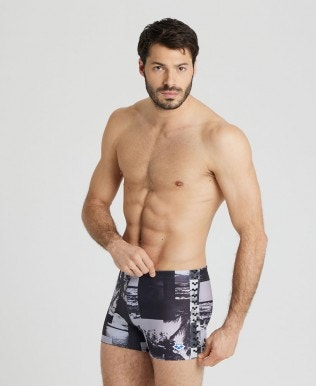 Men's Printed Icons Team Fit Shorts