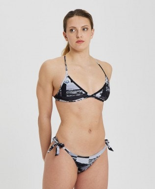 Women's Icons Team Stripe Triangle Bikini