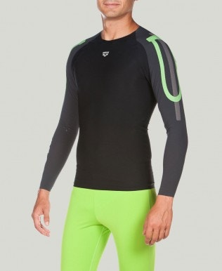 POWERSKIN Carbon Compression - Men's Long Sleeve Top