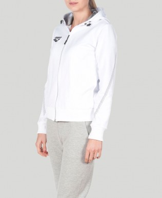 Womens Team Line Hooded Jacket