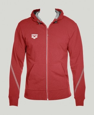 Stretch Fleece Kapuzenjacke
