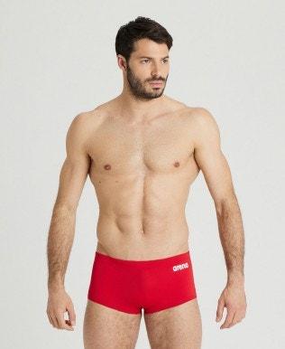 Men's Solid Squared Short