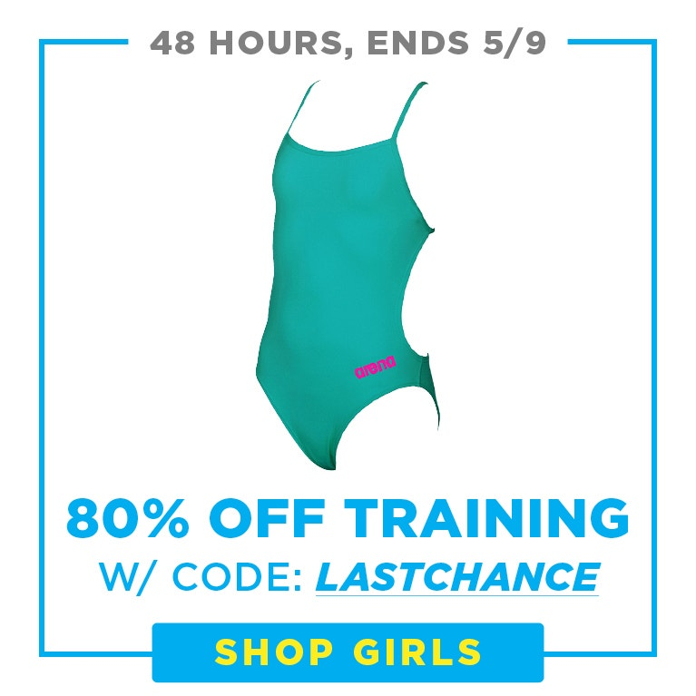up to 80% girls training suits with coupon: lastchance