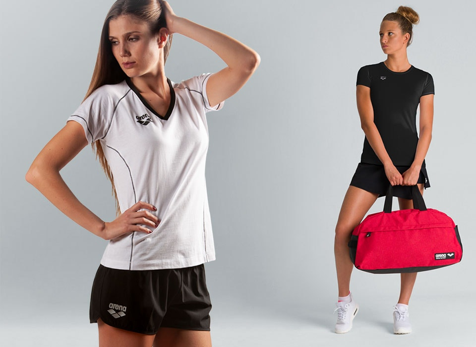 arena Essentials equipment and sportswear for women