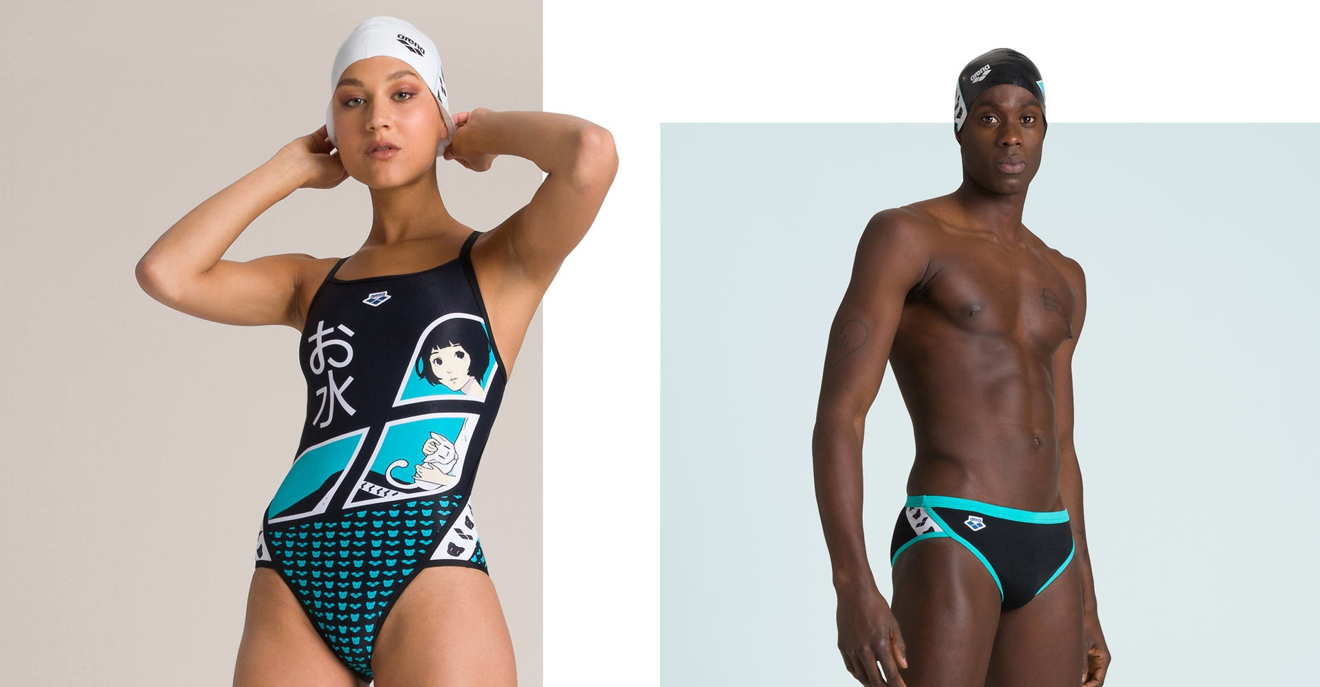 swimwear arena O-Mizu II collection