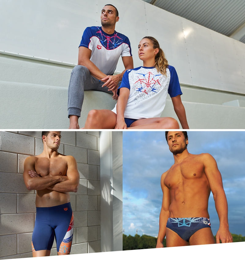 swimwear, sportswear and accessories for national teams